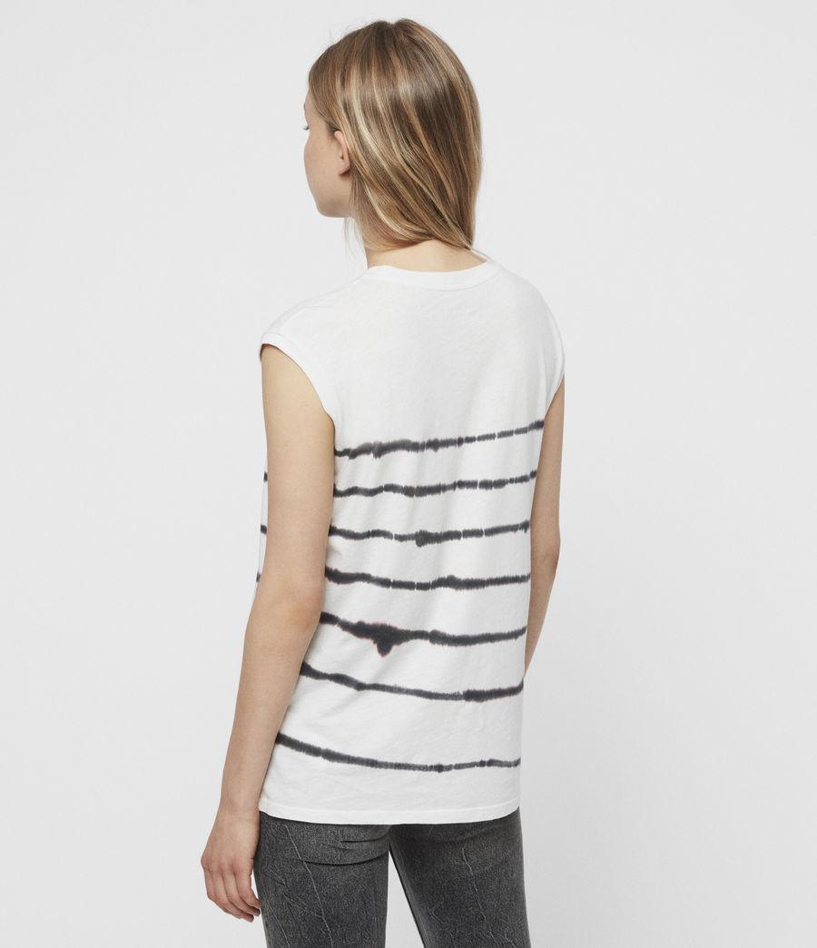 Mujer Camiseta sin Mangas Brooke Tystripe (chalk_white) - Image 5