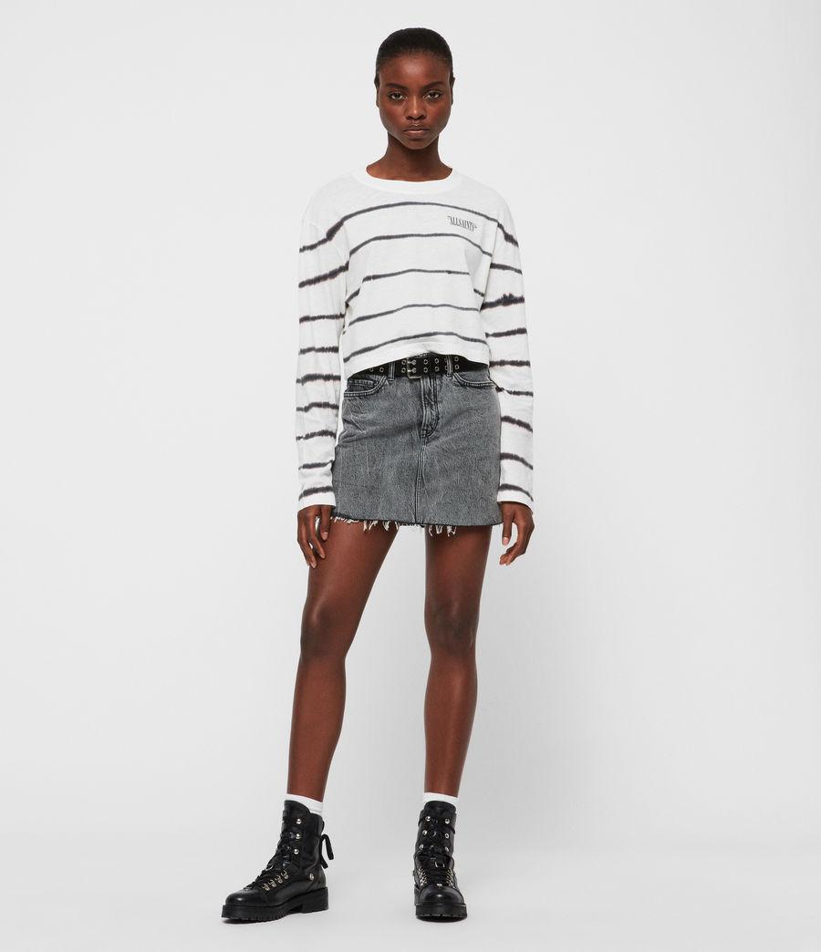Women's Tystripe Benno T-Shirt (chalk_white) - Image 2