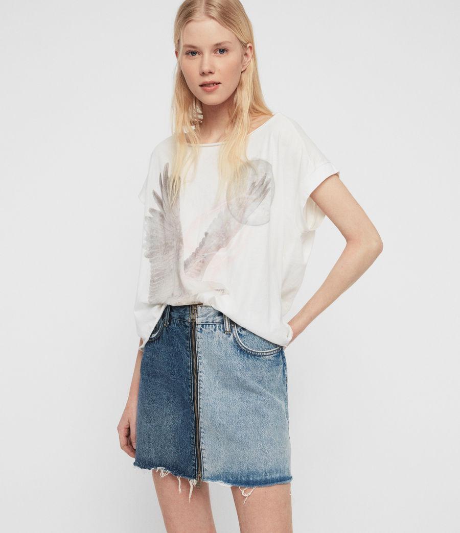 Womens Eagle Pina T-Shirt (chalk_white) - Image 1