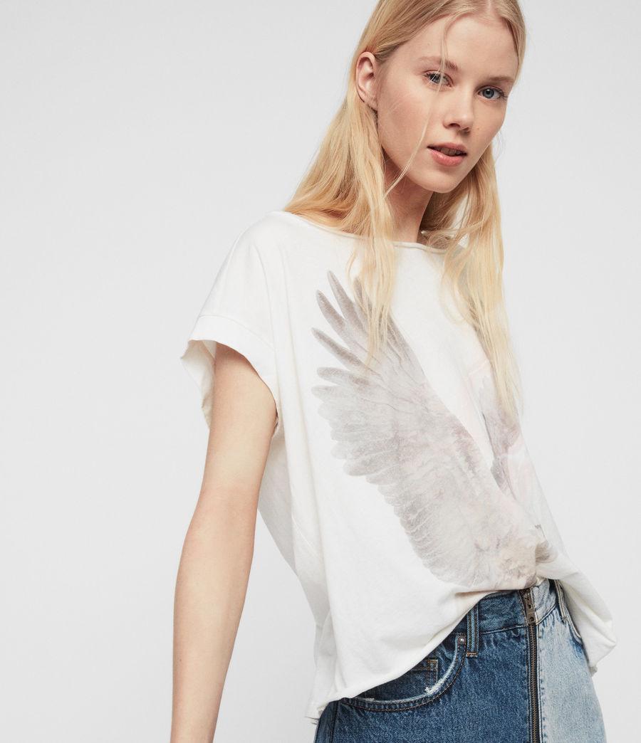 Womens Eagle Pina T-Shirt (chalk_white) - Image 2