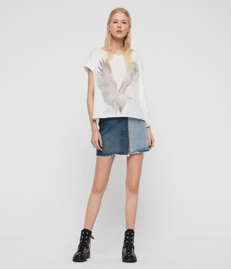 Womens Eagle Pina T-Shirt (chalk_white) - Image 3