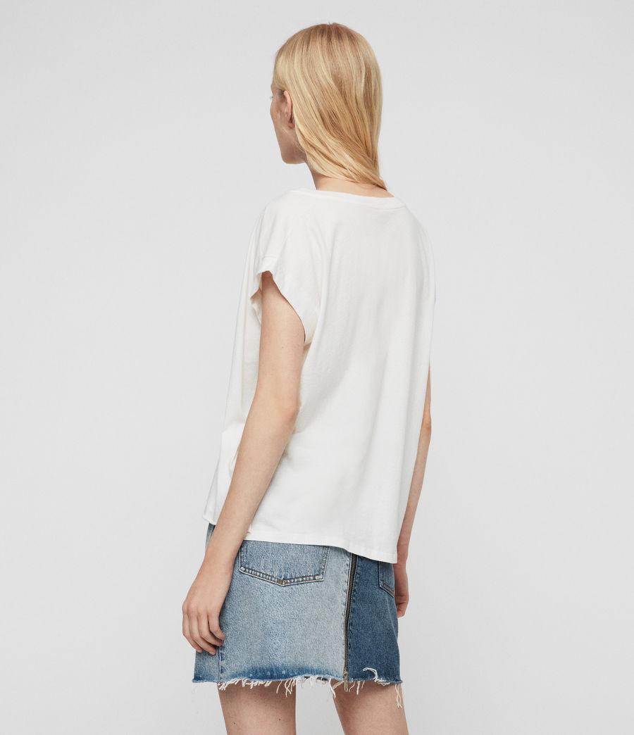 Womens Eagle Pina T-Shirt (chalk_white) - Image 5