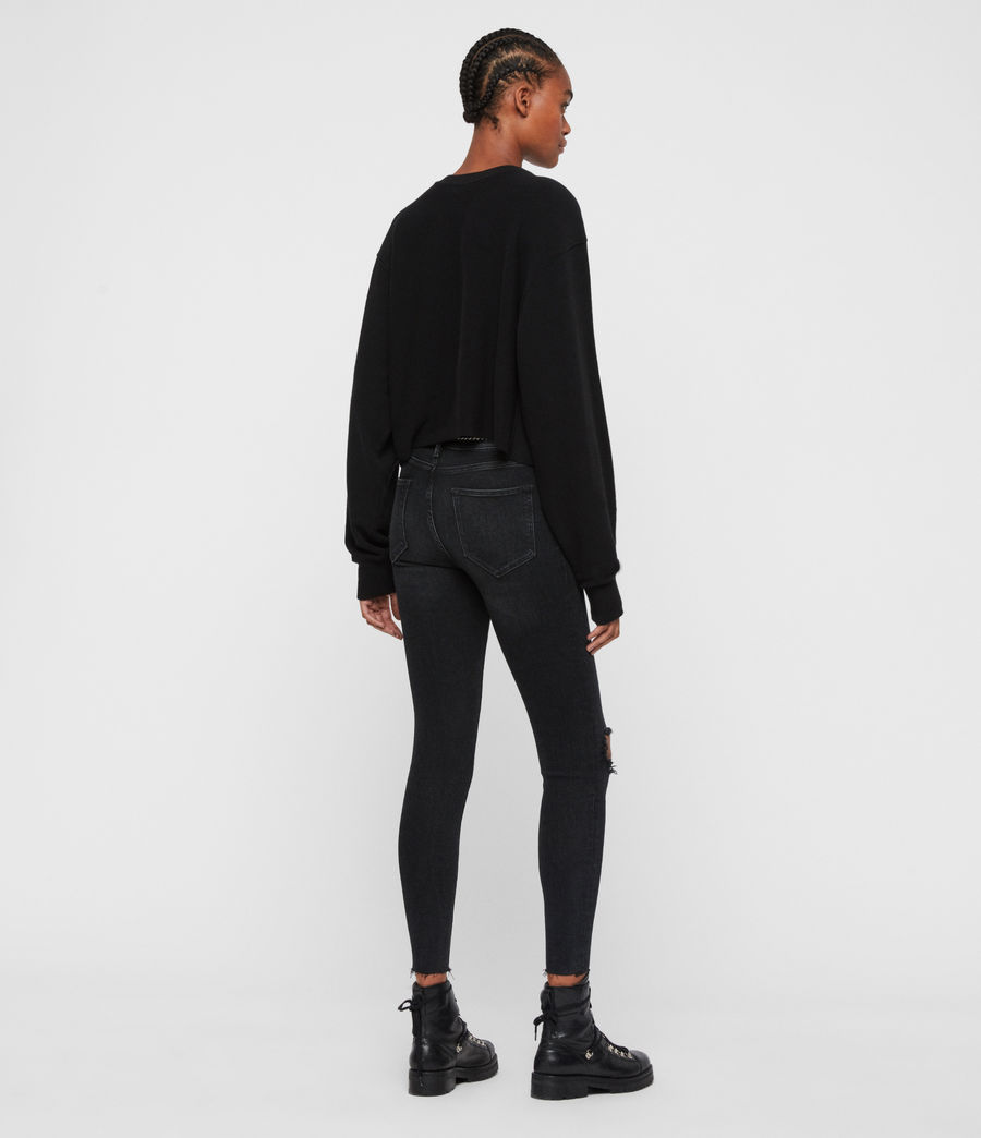 Femmes Sweat Court Midnight Navarre (black) - Image 5