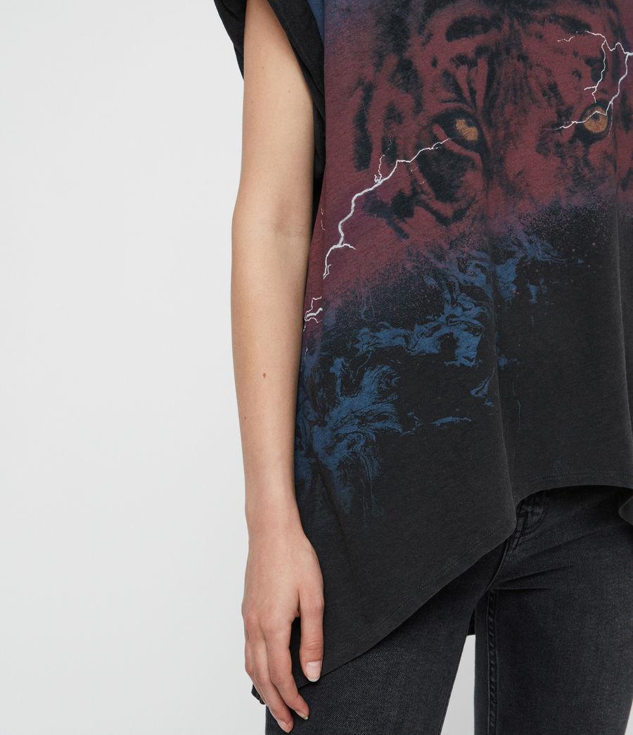 Donne T-shirt Requiem Sansa (black) - Image 4
