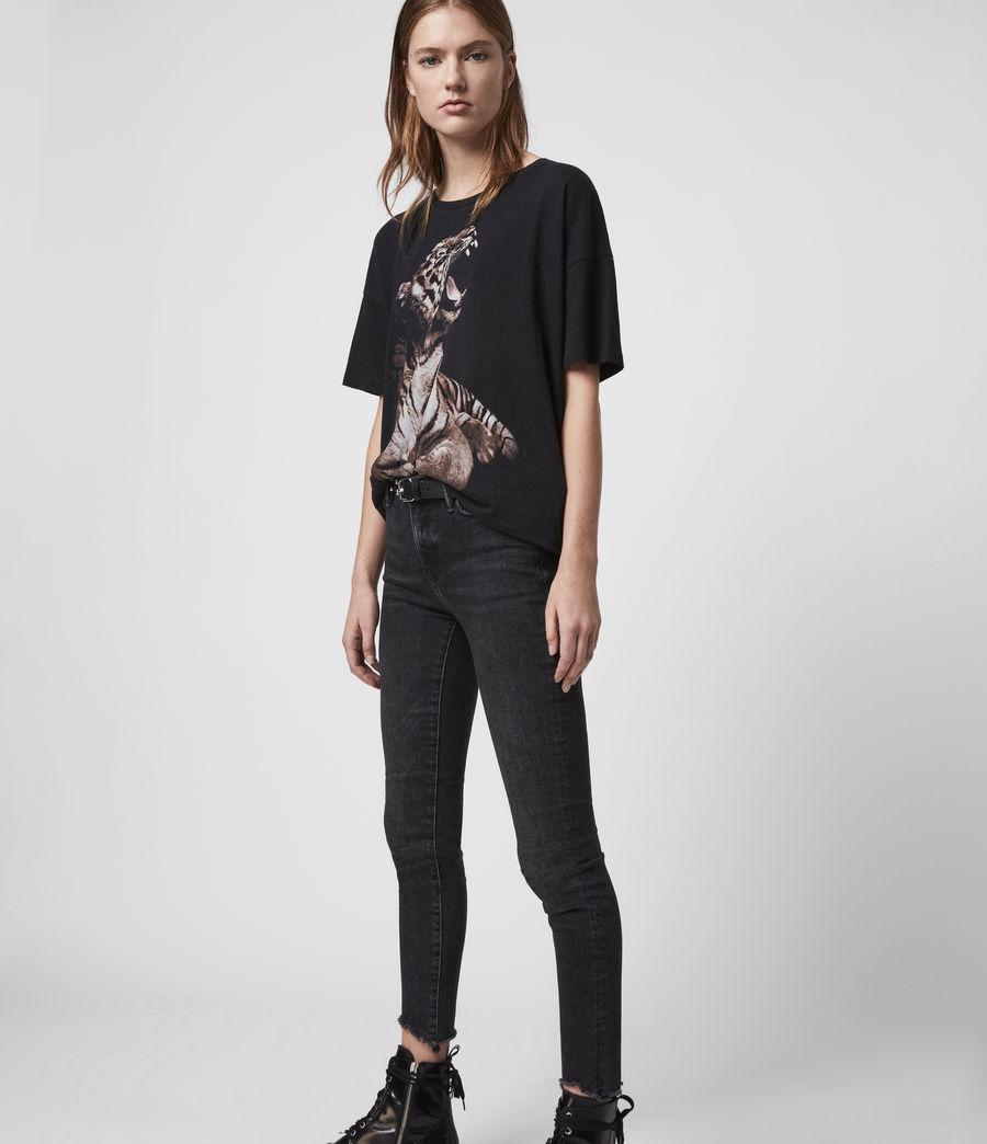 Mujer Camiseta Cori Tigress (black) - Image 4