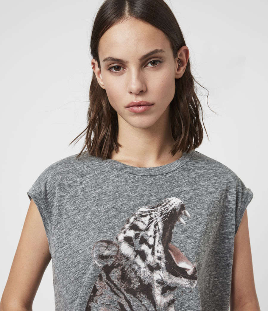 Damen Tigress Brooke Tank (grey_marl) - Image 2