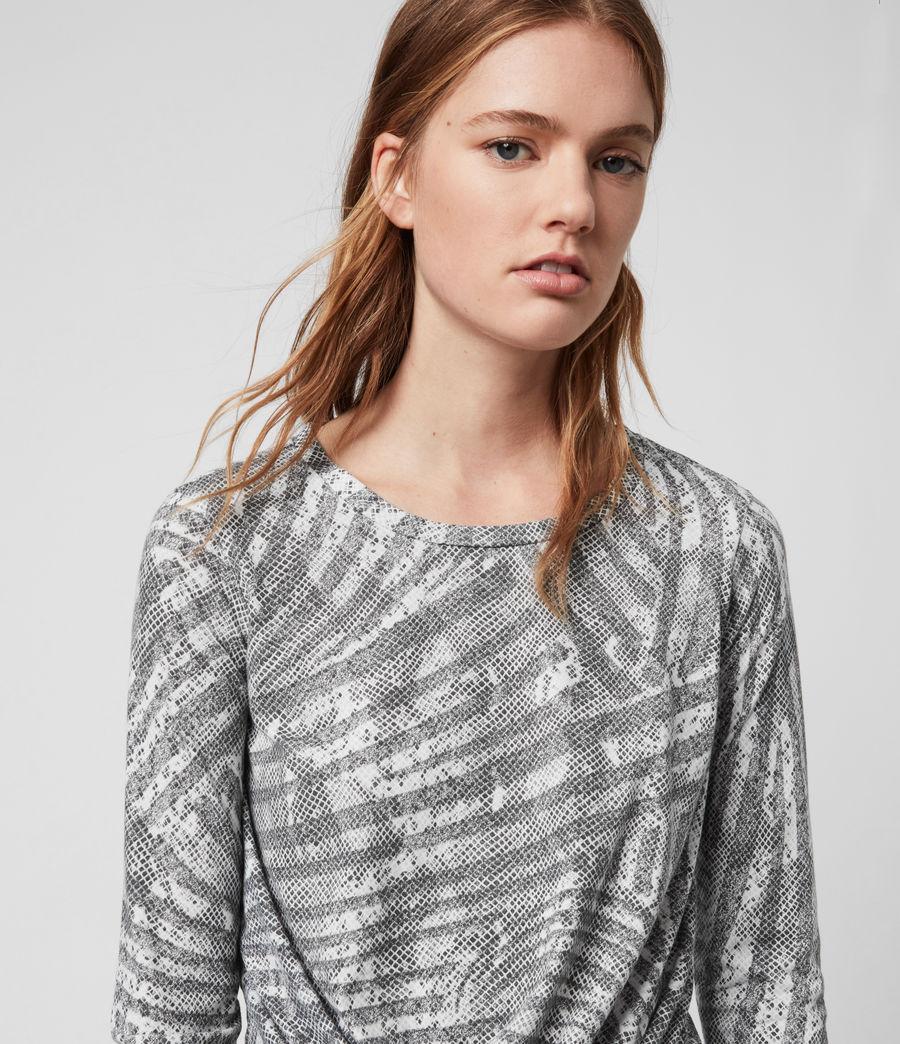 Damen Zake Carme Ls T-Shirts (grey) - Image 2