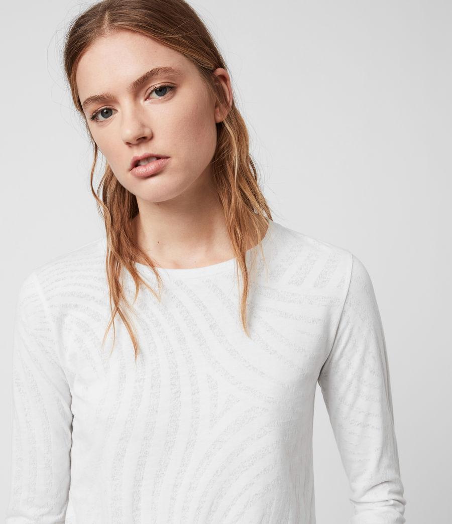 Womens Zake Esme T-Shirt (smog_white) - Image 2