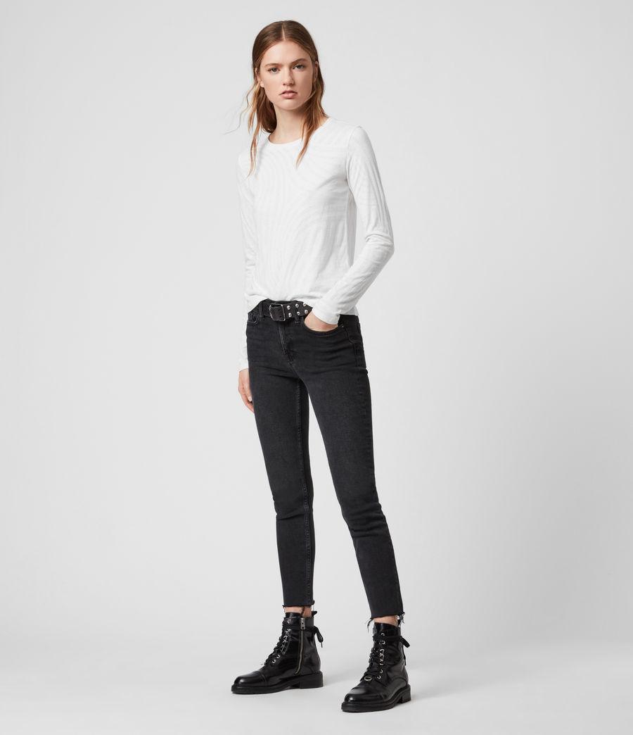 Womens Zake Esme T-Shirt (smog_white) - Image 3