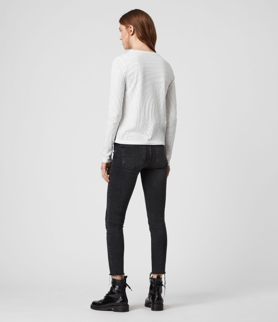 Womens Zake Esme T-Shirt (smog_white) - Image 4