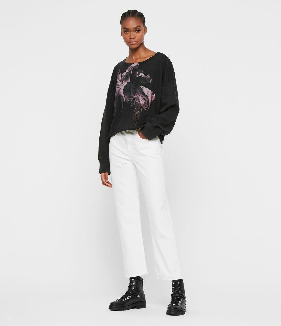 Women's Tulipa Piro Sweatshirt (fadeout_black) - Image 3