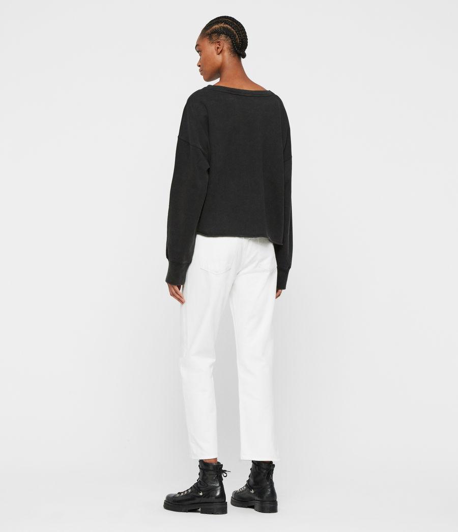 Women's Tulipa Piro Sweatshirt (fadeout_black) - Image 5