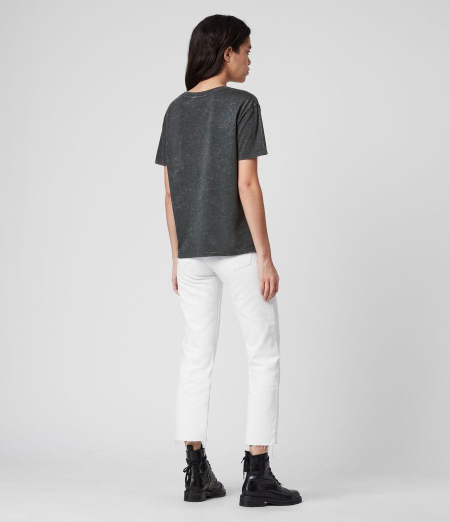 Women's Femme Dima T-Shirt (washed_black) - Image 5
