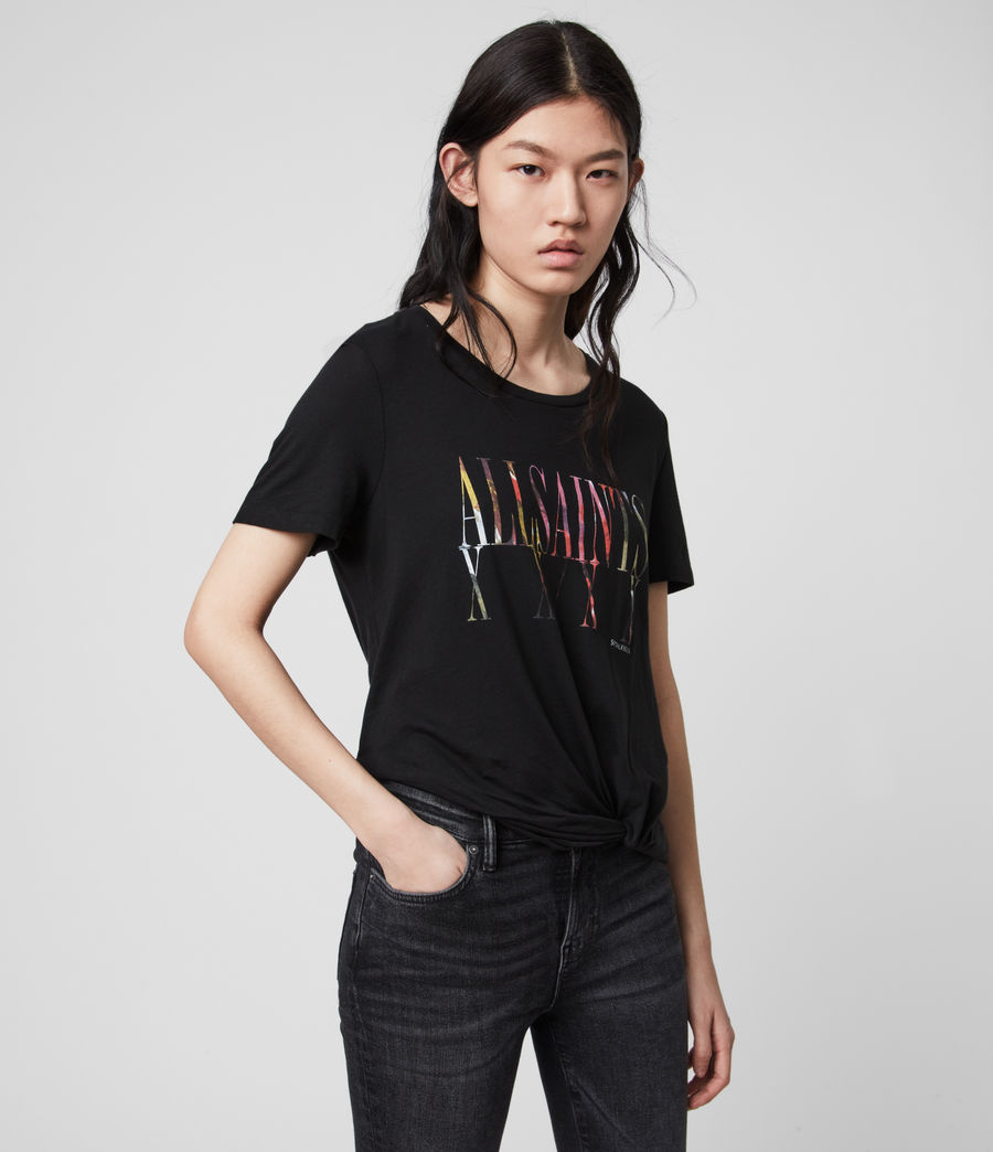 Donne T-shirt Express Wilma (black) - Image 4