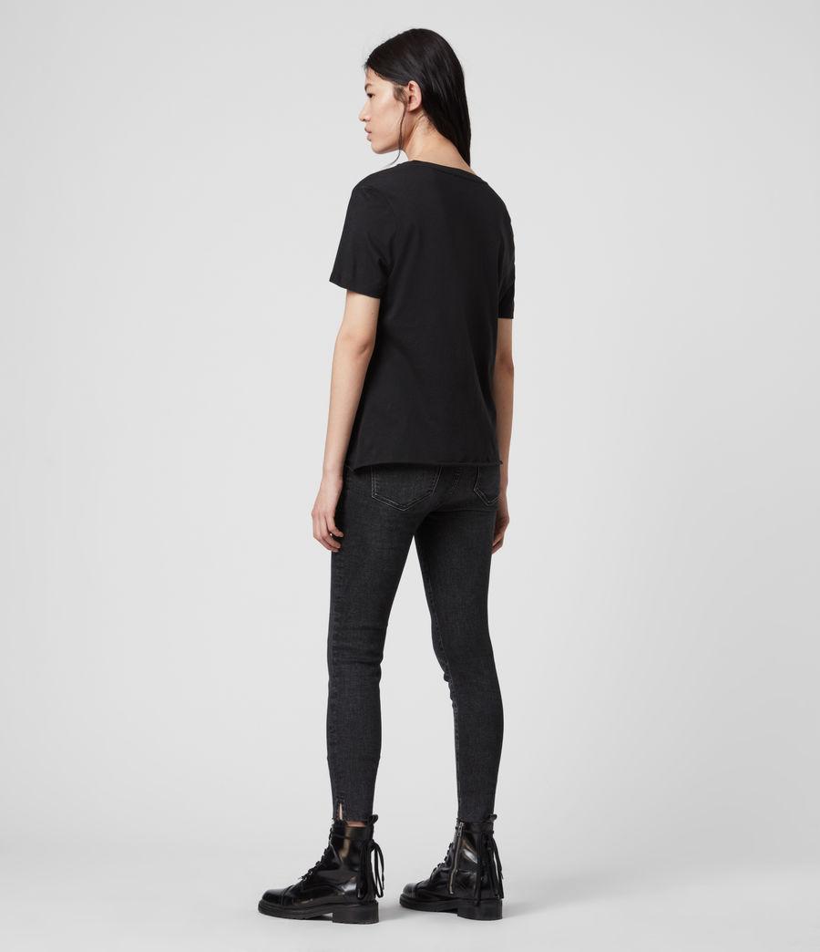 Mujer Express Wilma T-Shirt (black) - Image 5