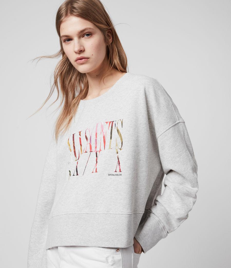 Womens Express Marna Sweatshirt (grey_marl) - Image 1
