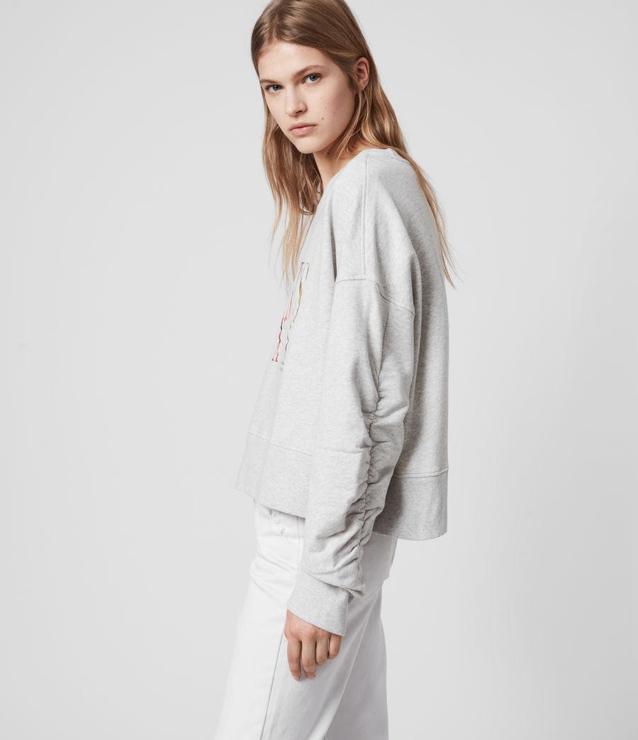 Womens Express Marna Sweatshirt (grey_marl) - Image 2
