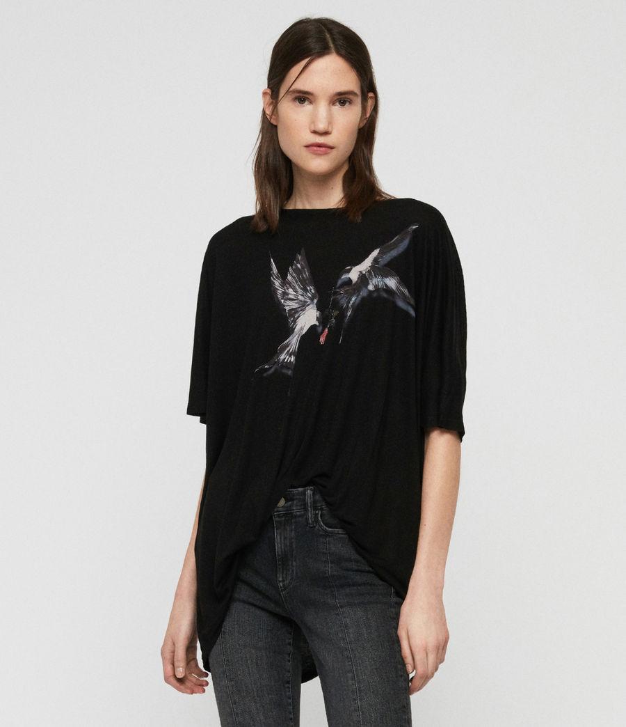 Womens Lovers Dreams T-Shirt (black) - Image 3