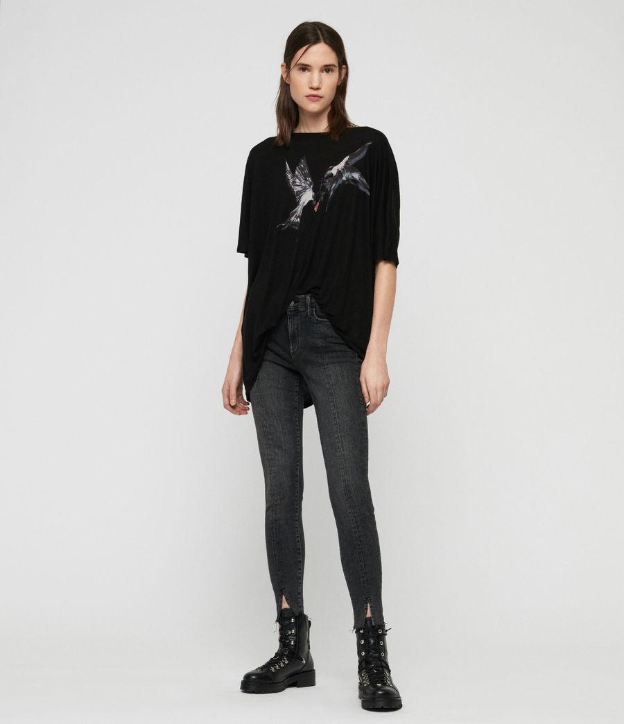 Womens Lovers Dreams T-Shirt (black) - Image 5