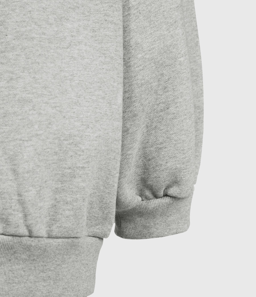 Women's Stamp Storn Sweatshirt (grey_marl) - Image 6