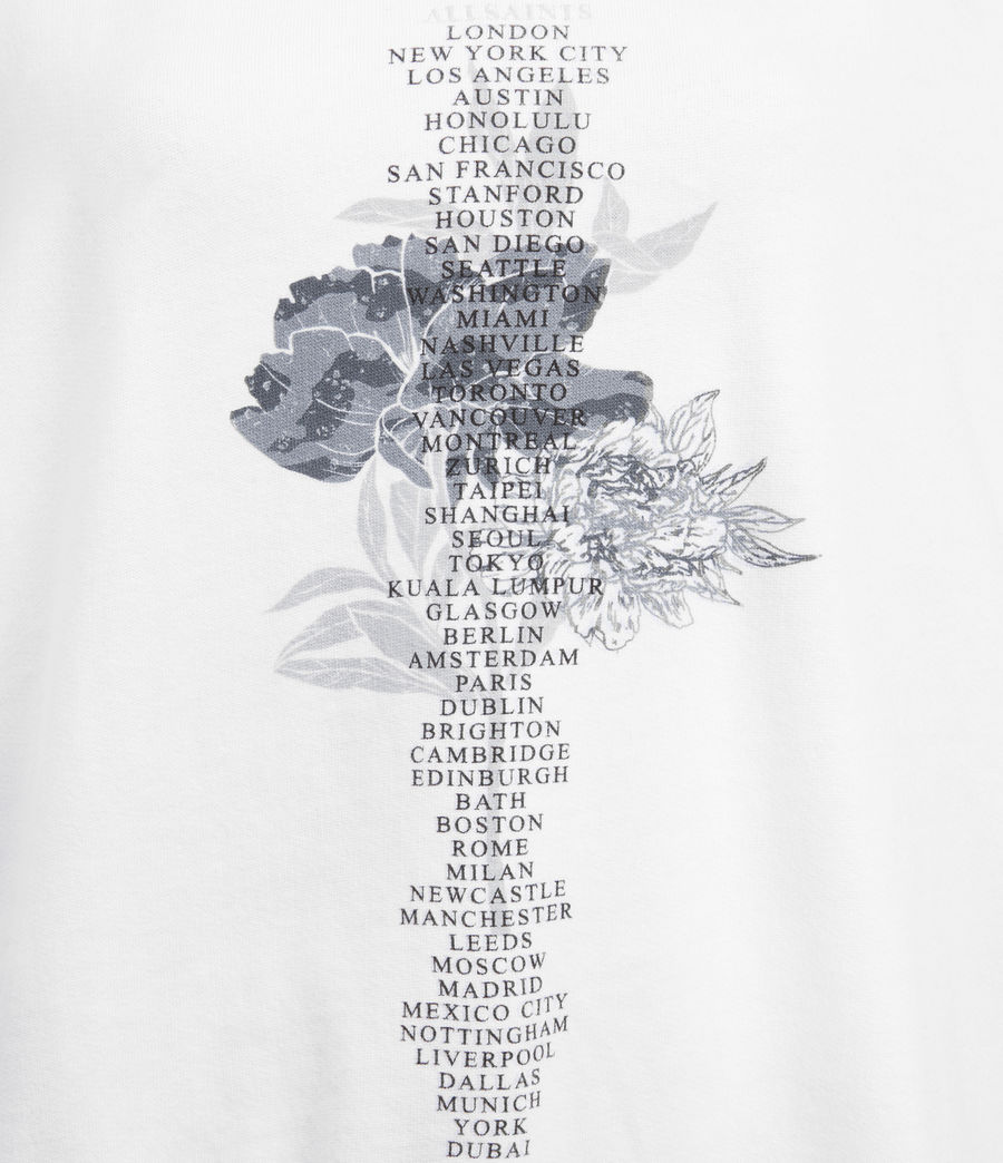Womens Flore Talie Hoodie (optic_white) - Image 3