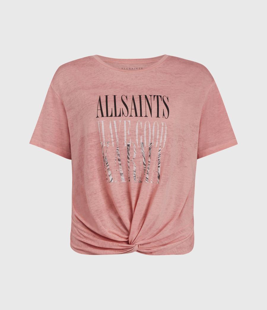 Women's Karma Carme T-Shirt (sorbet_pink) - Image 1