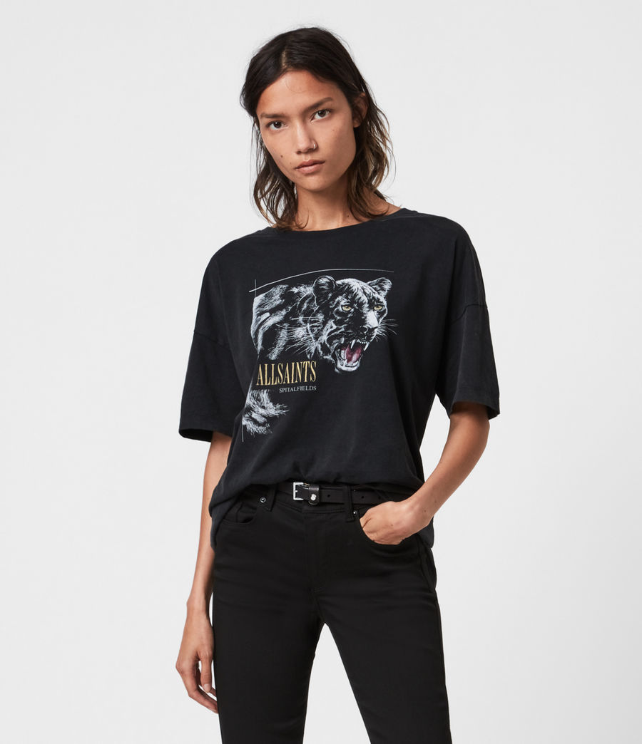 Women's Panthera Cori T-Shirt (black) - Image 1