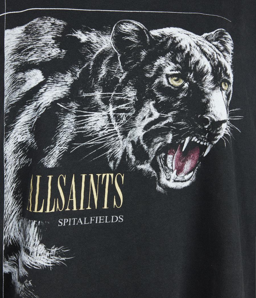 Womens Panthera Cori T-Shirt (black) - Image 5
