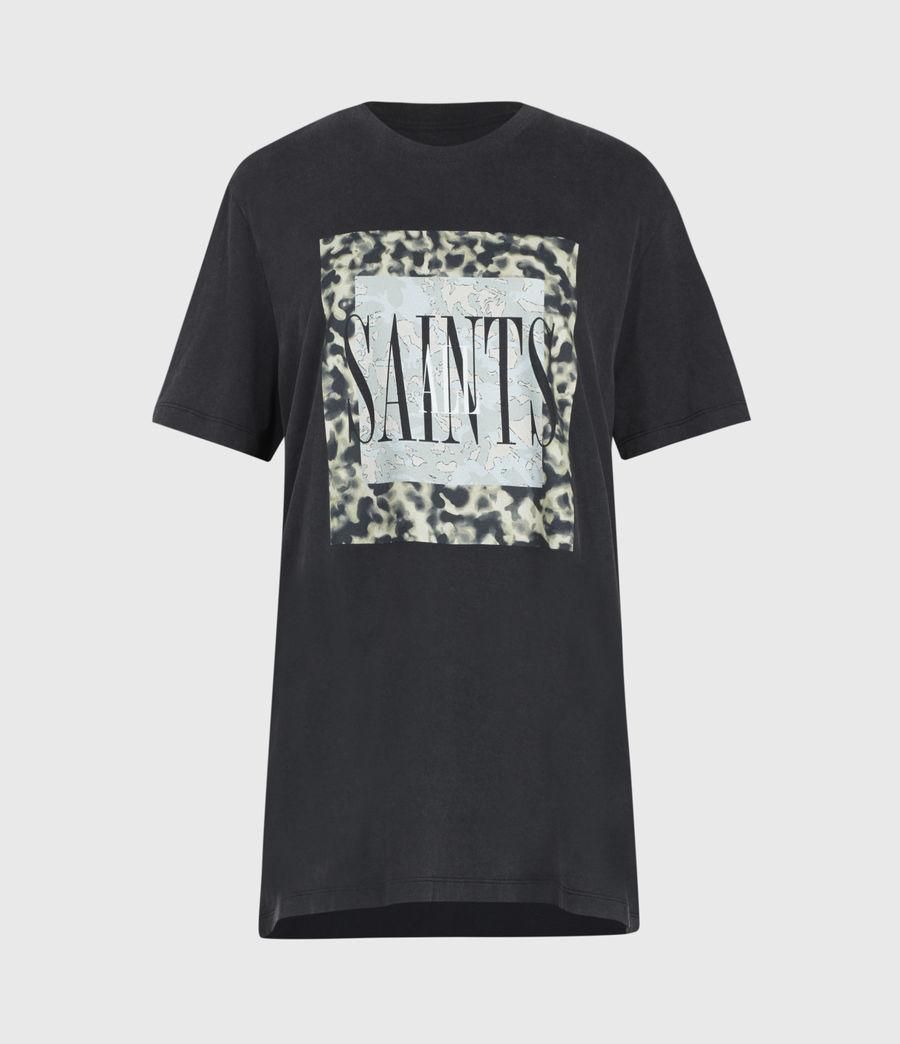 Donne Tortell Boyfriend T-Shirt (vintage_black) - Image 2