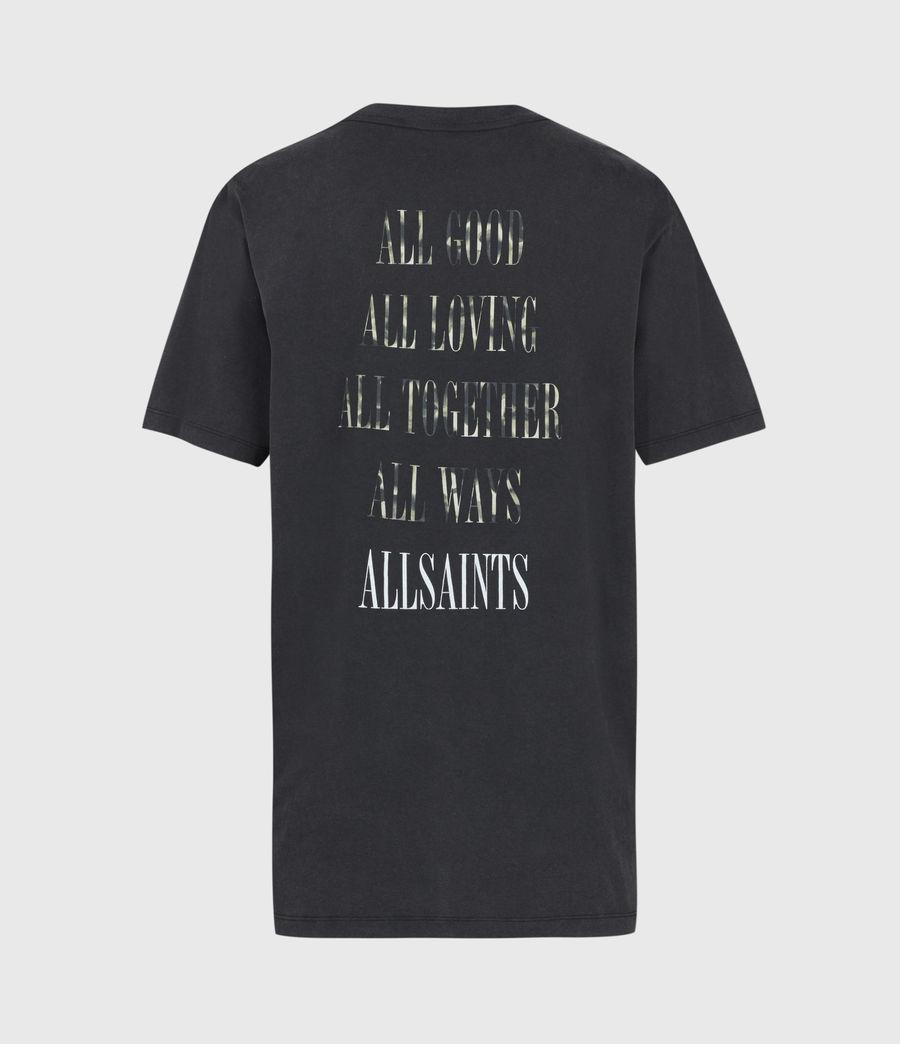 Donne Tortell Boyfriend T-Shirt (vintage_black) - Image 3