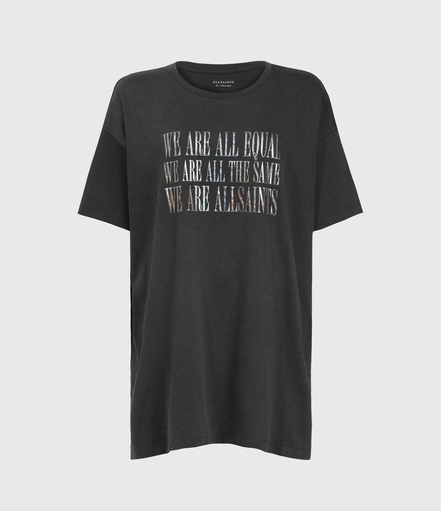 Womens Equality Cori T-Shirt (black) - Image 1