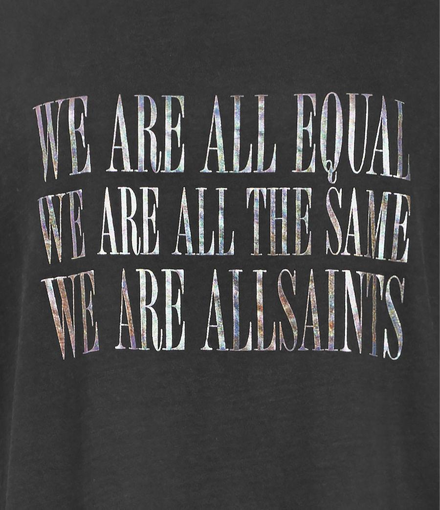 Womens Equality Cori T-Shirt (black) - Image 3