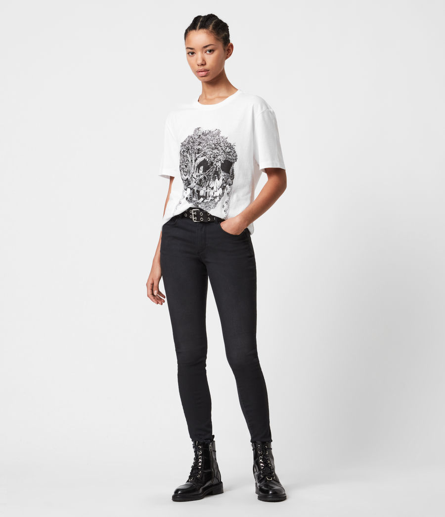 Women's Forestskull Mila T-Shirt (optic_white) - Image 1