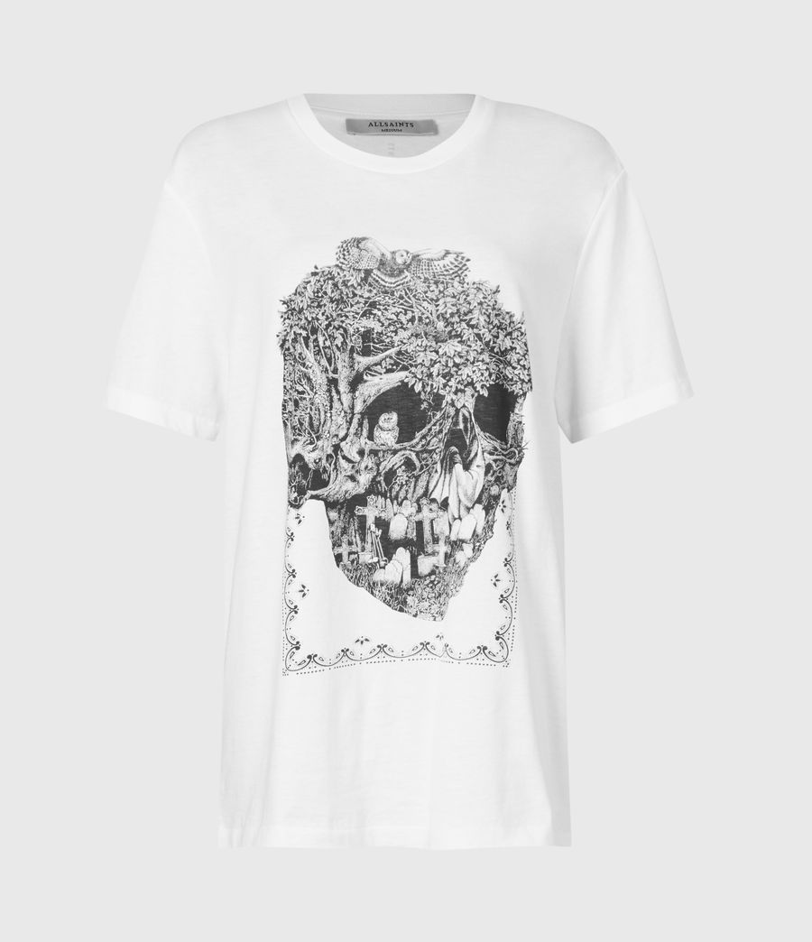 Women's Forestskull Mila T-Shirt (optic_white) - Image 2
