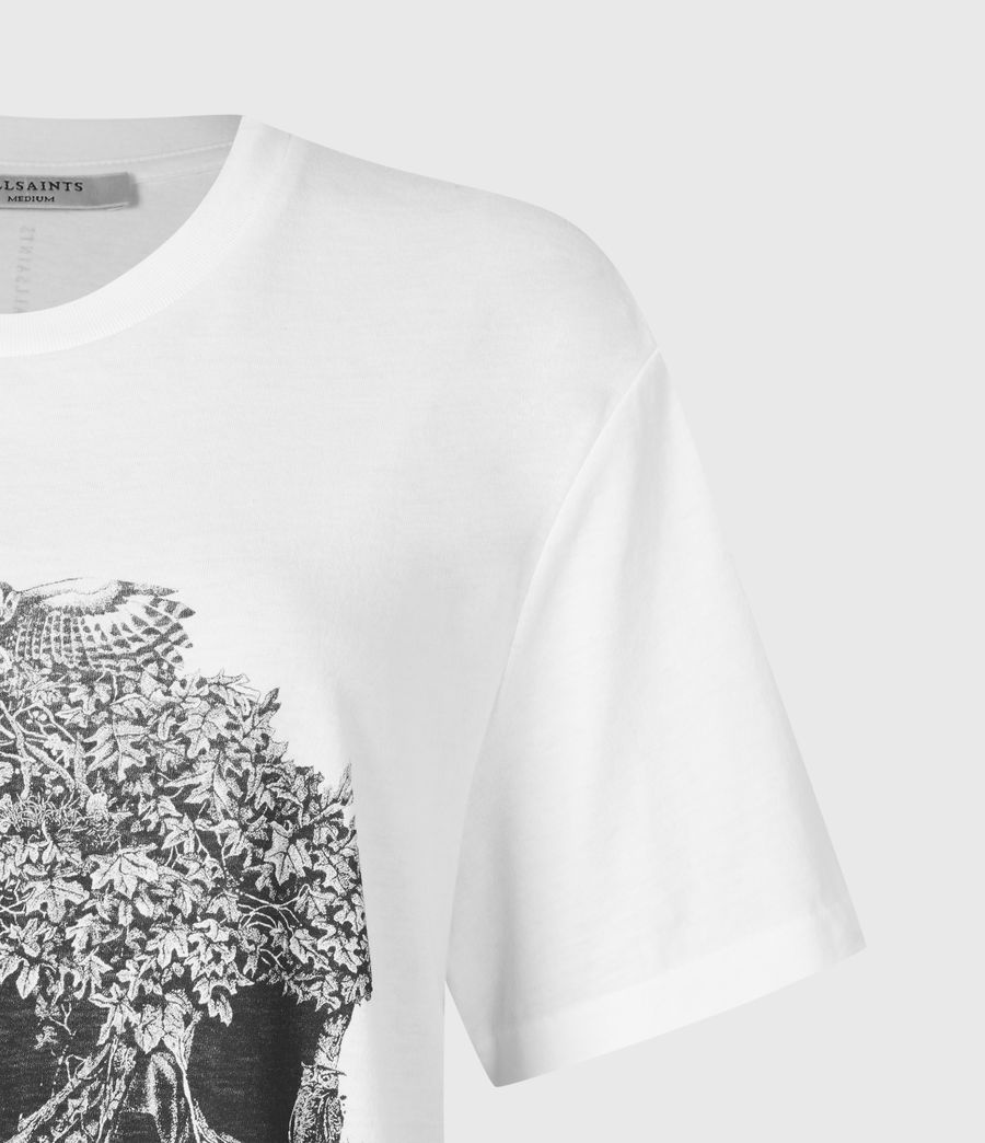 Women's Forestskull Mila T-Shirt (optic_white) - Image 4