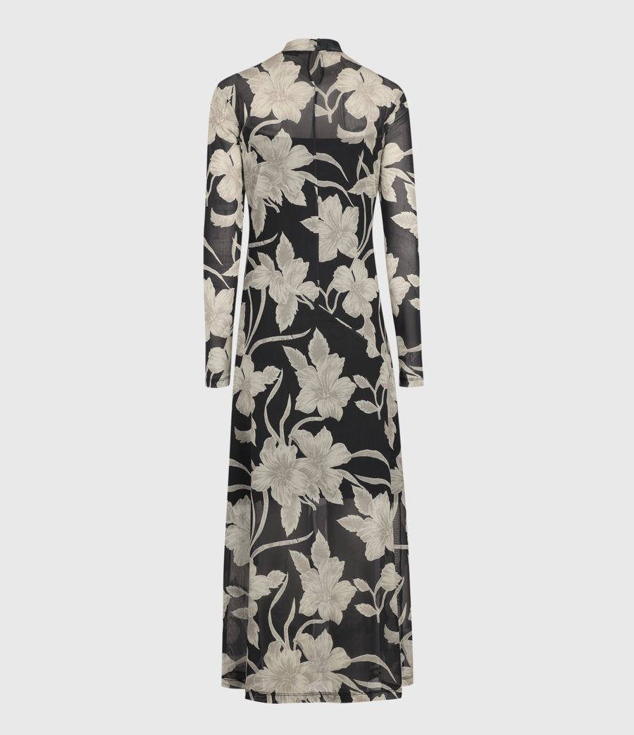 Women's Hanna Jardin Dress (black) - Image 3