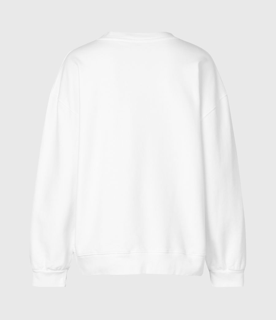 Womens Studia Iona Sweatshirt (optic_white) - Image 4