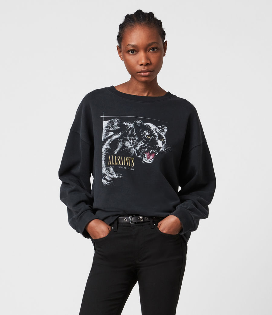 Women's Panthera Iona Sweatshirt (black) - Image 1