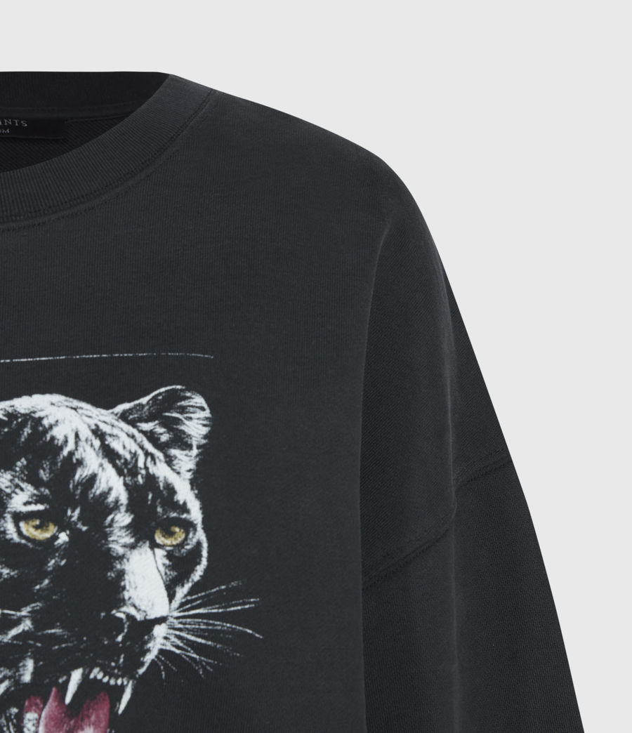 Women's Panthera Iona Sweatshirt (black) - Image 4