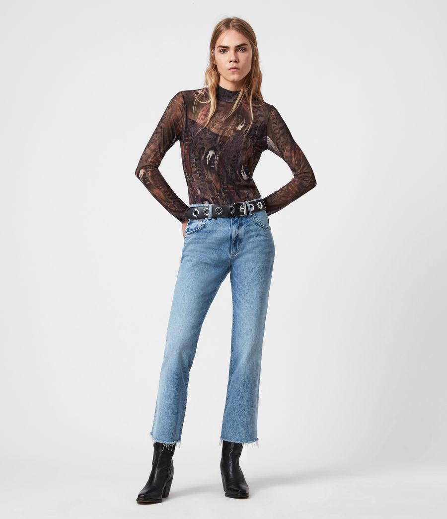 Women's Fusion Elia Bodysuit (brown) - Image 1