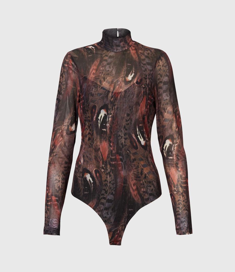 Women's Fusion Elia Bodysuit (brown) - Image 2