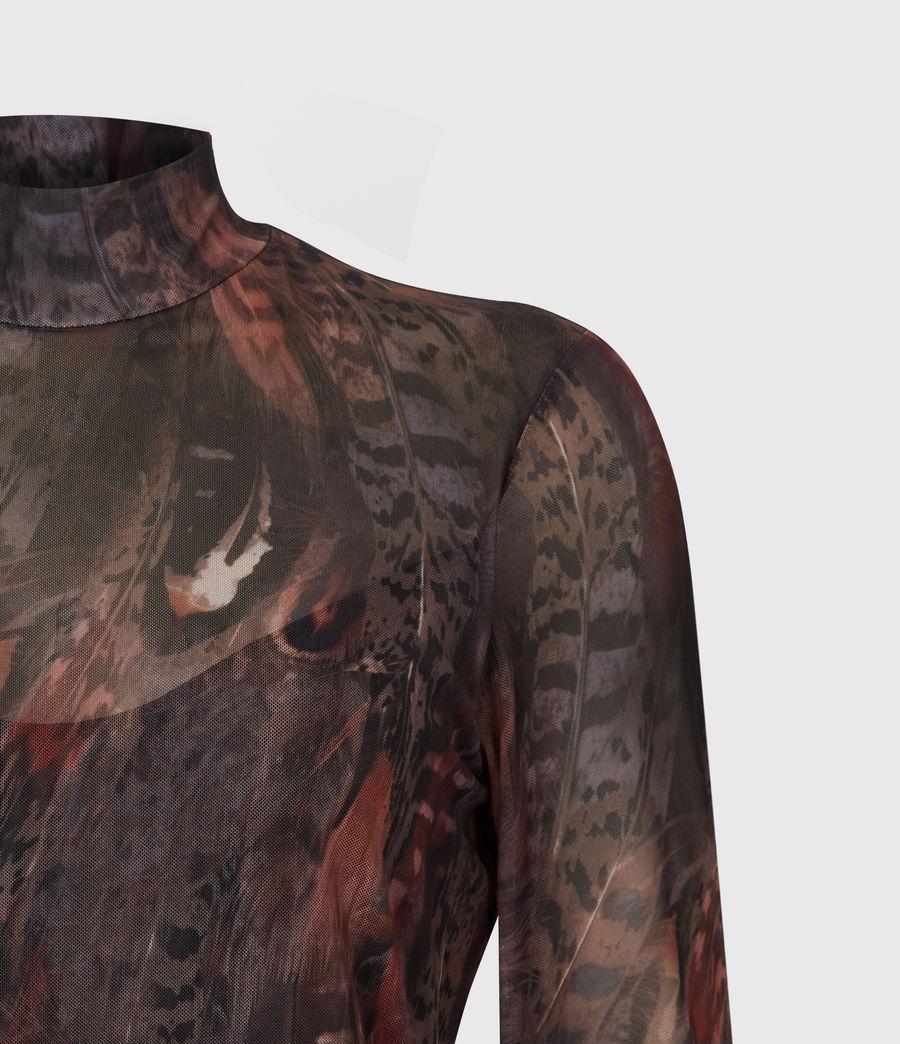 Women's Fusion Elia Bodysuit (brown) - Image 5