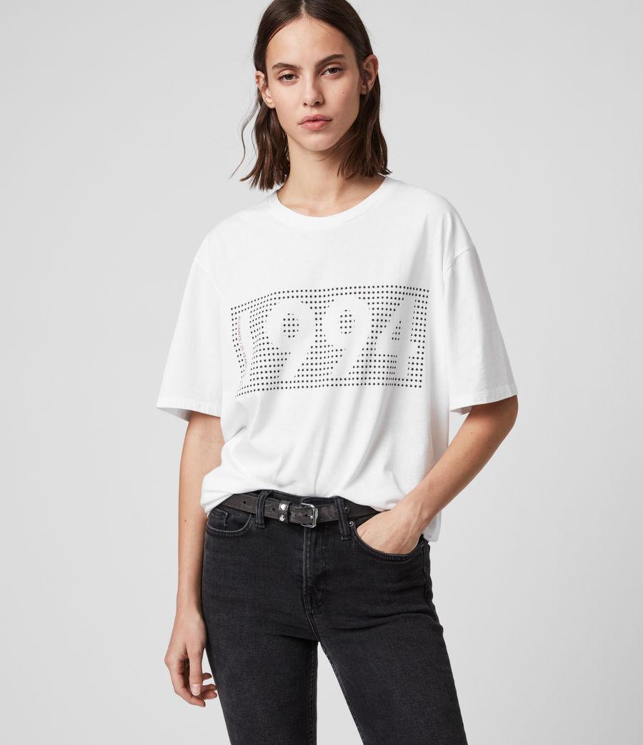 Mujer Camiseta Ninetyfour (white) - Image 2