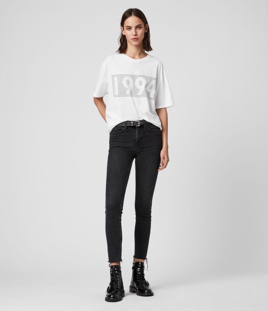 Mujer Camiseta Ninetyfour (white) - Image 3