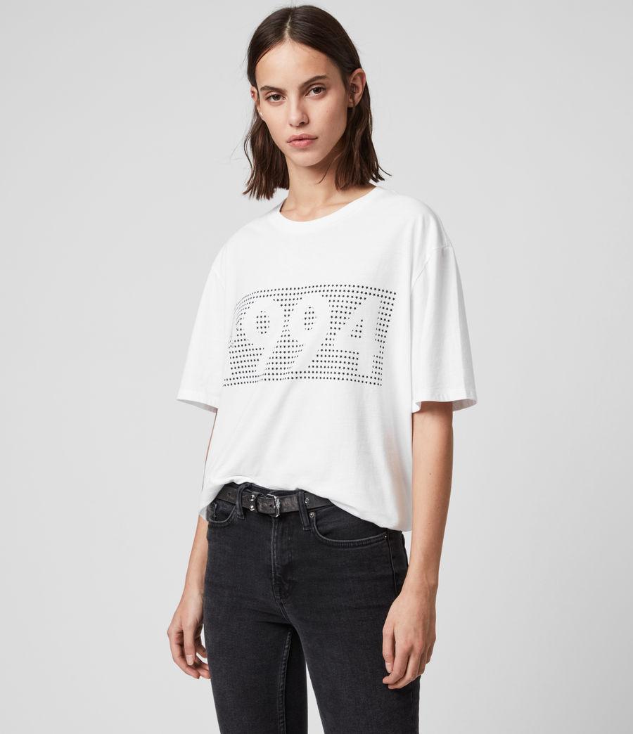 Mujer Camiseta Ninetyfour (white) - Image 4