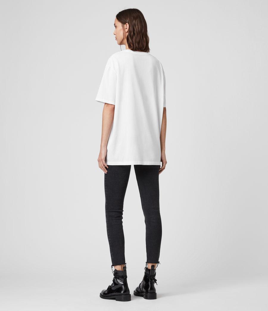 Mujer Camiseta Ninetyfour (white) - Image 5