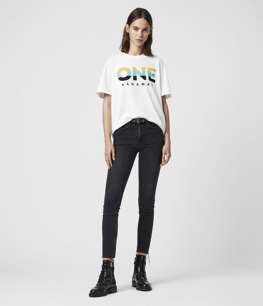 Women's Bahamas Crew T-Shirt (optic_white) - Image 3