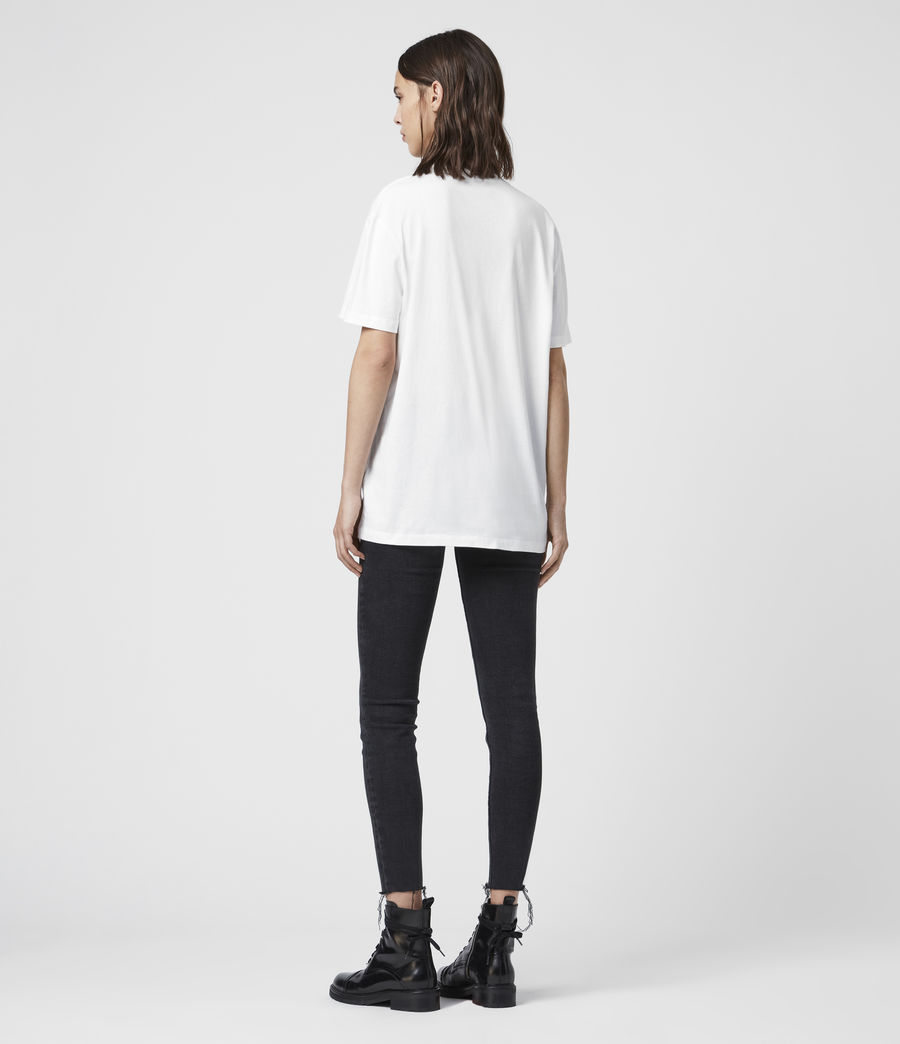 Women's Bahamas Crew T-Shirt (optic_white) - Image 4