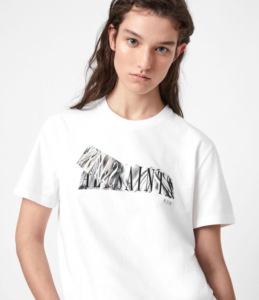 Womens Revelo Crew T-Shirt (optic_white) - Image 1