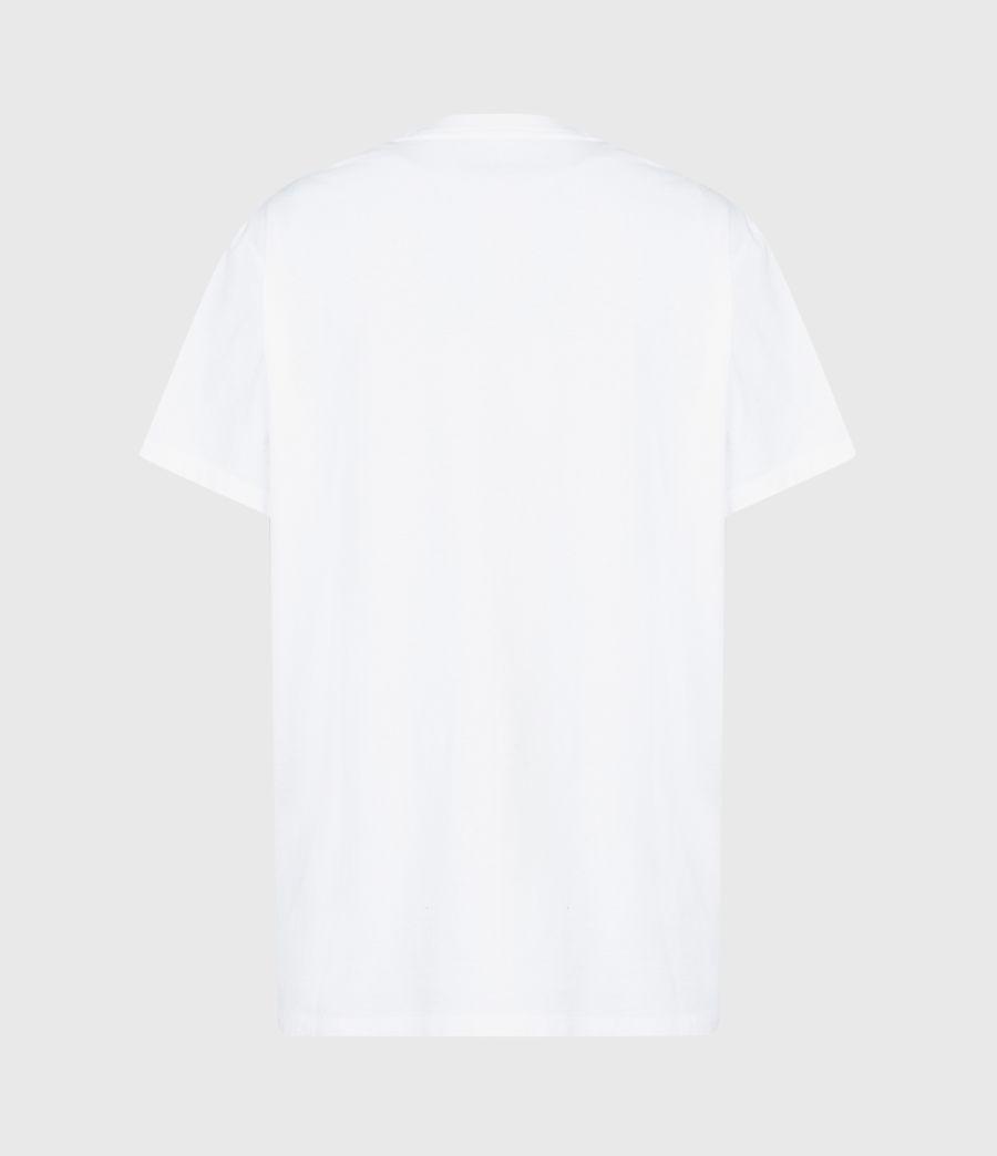 Womens Revelo Crew T-Shirt (optic_white) - Image 3